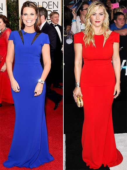 SAVANNAH VS. KATE  photo | Kate Winslet, Savannah Guthrie