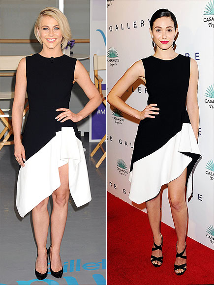 JULIANNE VS. EMMY  photo | Emmy Rossum, Julianne Hough