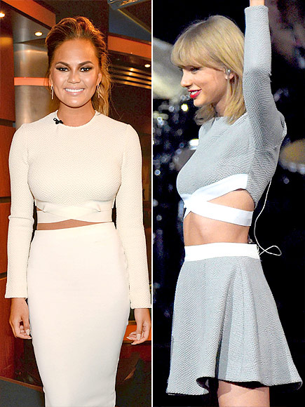 CHRISSY VS. TAYLOR  photo | Chrissy Teigen, Taylor Swift