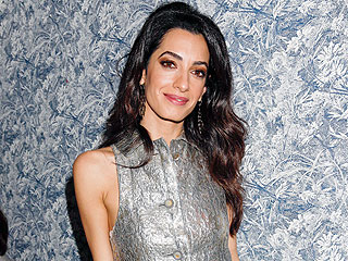 Amal Clooney's Copper Eye Is Holiday Party Gold: Here's the Exclusive How-To