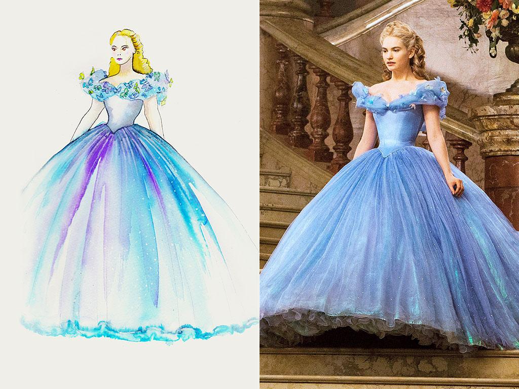 Cinderella Ball Gown Costume Designer Sandy Powell