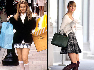 Taylor and Cher! Dionne and Zendaya! These Stars Are Dead Ringers for Their Clueless Style Spirit Animals