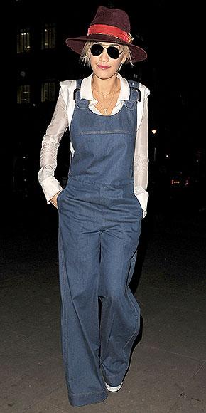 RITA ORA's OVERALLS  photo | Rita Ora