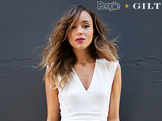 Ashley Madekwe Models Our PEOPLExGilt Collection Like a Pro (and Shares All Her Style Secrets!)