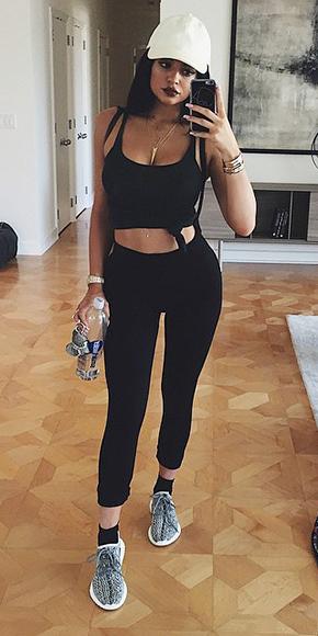 Kylie jenner s trendsetting style for Kiptyn locke instagram