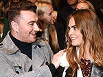 London Fashion Week: Sam and Cara's Beautiful Burberry Duet