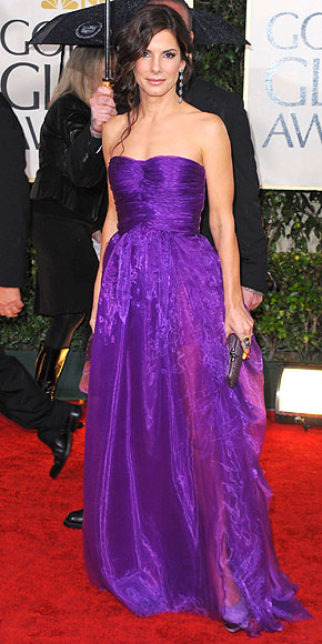 PURPLE REIGN photo | Sandra Bullock