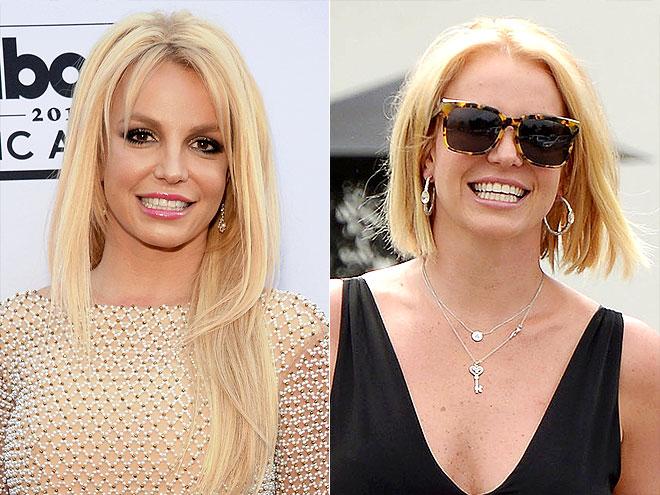 Britney Spears Hair Styles: Celebrity Hair Changes; Britney Spears Hair Changes