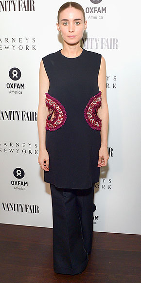 EMBELLISHED SIDE CUTOUTS photo | Rooney Mara