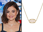 I Really Love My: Lucy Hale's Pretty Pendant & More!