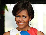 I Really Love My: Michelle Obama's Pretty Printed Two-Piece & More!