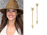 I Really Love My: Alessandra Ambrosio's Earrings & More!