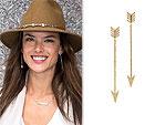 I Really Love My: Alessandra Ambrosio's Earrings & More!