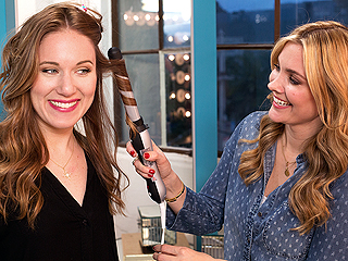 How Stars Get Beachy Waves: With This Brand-New (Amazing) Curling Iron