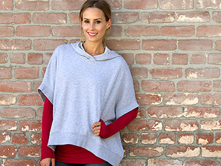 What We're Loving: Sporty Ponchos!
