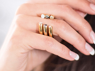 The Hottest Jewelry Find of the Season? These Ring Cuffs!