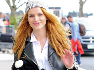 You Asked, We Found: Bella Thorne's Cat-Face Phone Case!