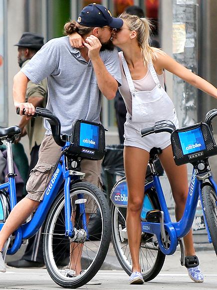KELLY ROHRBACH'S TIE-DYE SLIP-ONS photo | Leonardo DiCaprio