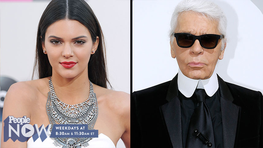 Model Kendall Jenner Joins Team Karl in Latest Fashion Campaign