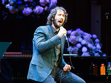 when is josh groban headed to broadway video. Black Bedroom Furniture Sets. Home Design Ideas