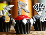 Love Rihanna? Make Sparkly 'Diamonds' and 'Umbrella' Cupcakes