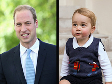 Exclusive royal flashback the firstborns of the windsor family