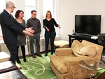 Watch Rachel Dratch Give a Small Apartment a Big Makeover