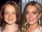 Lindsay Lohan's Changing Looks