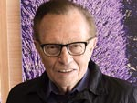 Go Inside Larry King's Home (He's Showing Us Where He Keeps His Suspenders!)