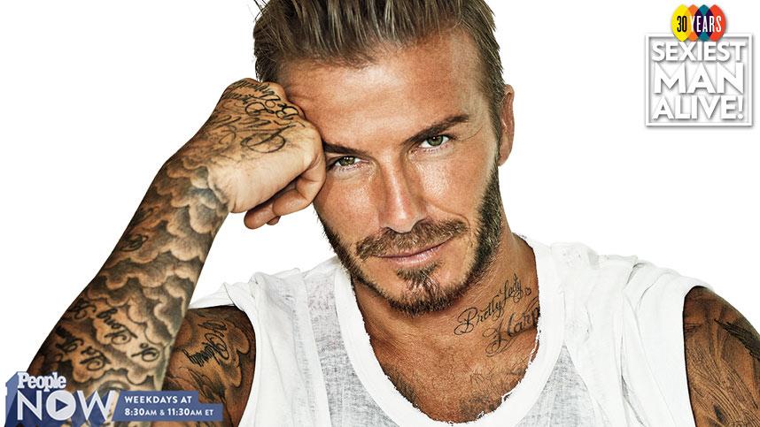 Naked David Beckham Pictures 4