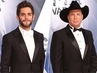 VIDEO: Thomas Rhett Fanboys Over Garth Brooks: 'It's Nice to Know That Your Idol Is as Cool as You Thought He Was Going to Be'