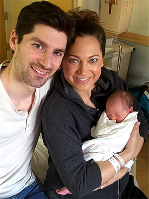 Ginger Zee and son