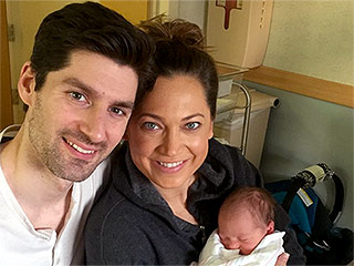 VIDEO: New Mom Ginger Zee: Husband Ben Aaron Has 'Changed 90 Percent' of Son Adrian's Diapers