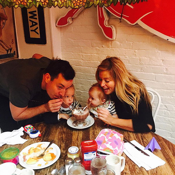Jimmy Fallon and Family Frozen Hot Chocolate