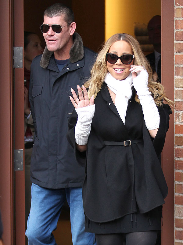 Mariah Carey Twins Aspen 2015