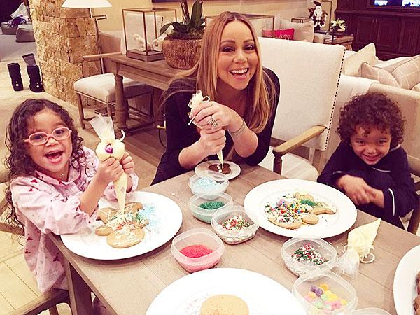 Mariah Carey Twins Aspen 2015