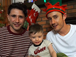 Matt Dallas and Blue Hamilton Welcome Son Crow