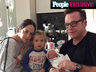 It's a Girl! Meet Tom Arnold's Newborn Daughter Quinn