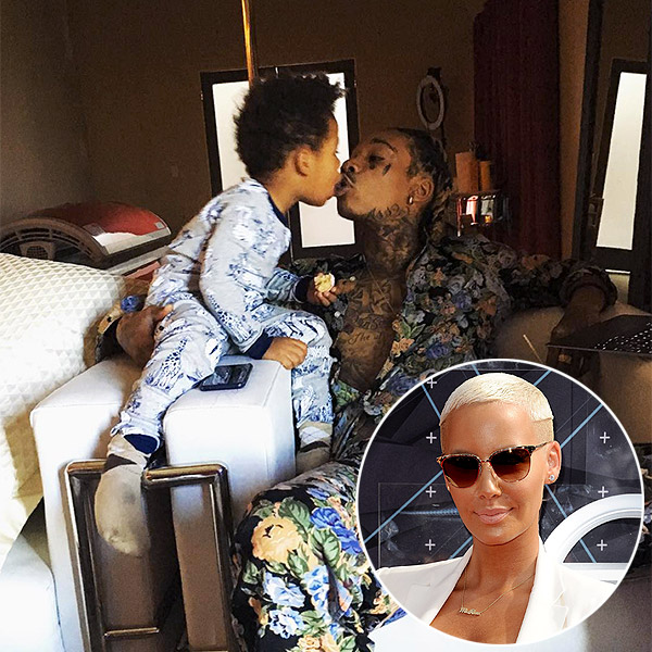 Amber Rose Wiz Khalifa son Sebastian photo