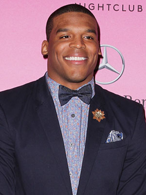 Cam Newton girlfriend welcome son