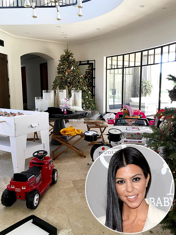 Kourtney Kardashian Christmas gifts