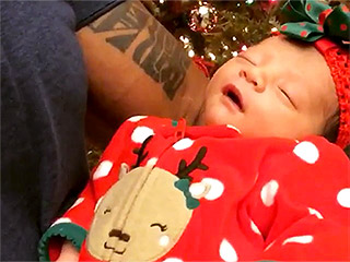 VIDEO: Dwayne 'The Rock' Johnson Serenades Newborn Daughter Jasmine as She Shows How She Takes After Her Famous Dad