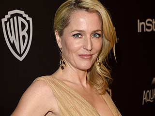 Gillian Anderson Shuts Down Plastic Surgery Rumors, Says Claims Are 'B-------'