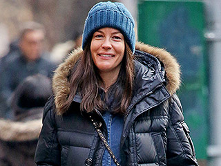 Bump, There It Is! Pregnant Liv Tyler Braves the Cold in a Denim Jumpsuit While Out in N.Y.C.