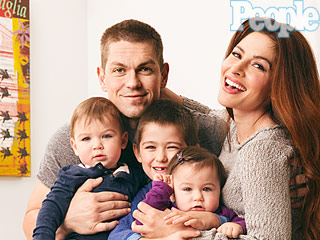 Steve Howey and Sarah Shahi: Our Twins Brought Us Closer Together