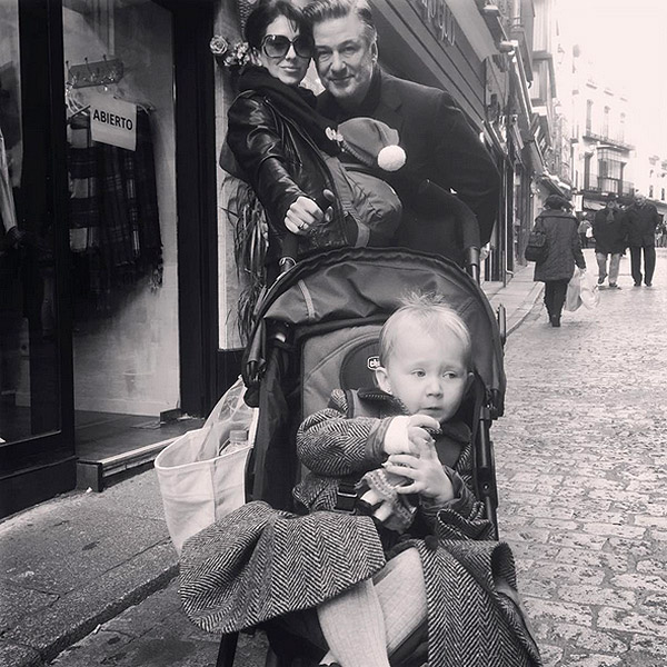 Alec Baldwin and kids