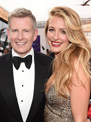 Patrick Kielty Cat Deeley welcome son
