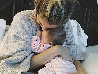 Kristin Cavallari Snuggles with Saylor Following Car Accident Injury: 'First Time I've Been Able to Hold Her by Myself'