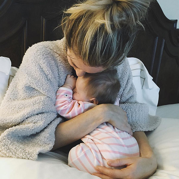 Kristin Cavallari Holds Baby Saylor For First Time Since