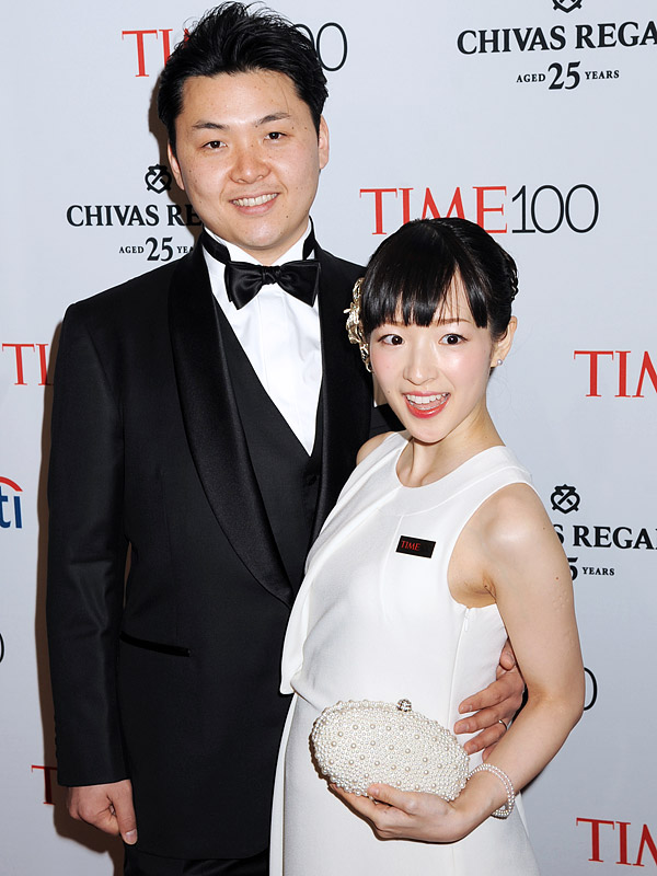 Kondo and husband